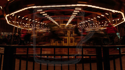Carousel, at speed