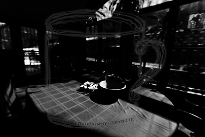 Carmel, our cat, eats at 6am. I went to the kitchen to give her food and found moonlit shadows. I tried to capture them, with mixed results. 14Jan12
