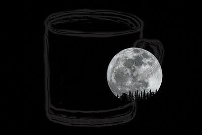 Moonrise over Lone Peak Wilderness #5 - 7Mar12